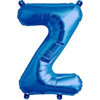 Blue Letter Z Megaloon Balloon
