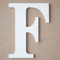 Wooden Letter F