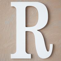 Wooden Letter R