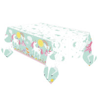 PRINTED TABLECOVER MAGICAL UNICORN