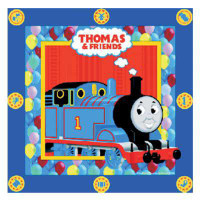 THOMAS & FRIENDS NAPKINS 16