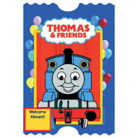 THOMAS & FRIENDS INVITE 8