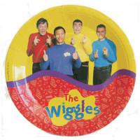 WIGGLES PARTY PLATES pack 8