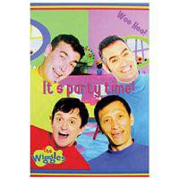 WIGGLES PARTY INVITES pack 8