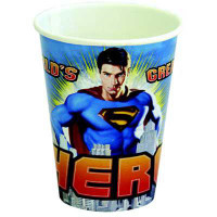 SUPERMAN CUP 6 pcs