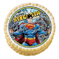 SUPERMAN EDIBLE ICING IMAGE
