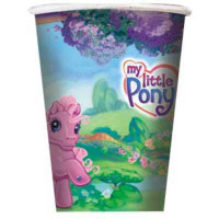 MY LITTLE PONY CUPS 8