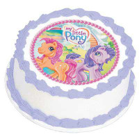 MY LITTLE PONY EDIBLE ICING DECORATION