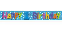 BANNER  HAPPY 1st  BIRTHDAY  360CM