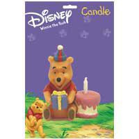 POOH WITH CAKE CANDLE