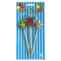 BSC - #30 THREE STAR PICK CANDLE