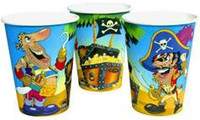It's a Pirate Party Cups Pack 8