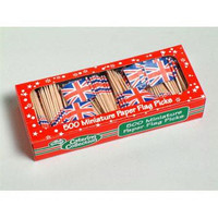 FLAGPICK GREAT BRITAIN PACK 500