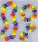 PK4 FLOWER LEI ASSORT-LEI/HDBAND/BRACELET