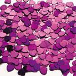 Hearts Purple Scatterfetti Bag 15g