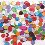 Coloured Dots Scatterfetti Bag 15g
