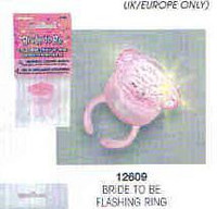 BRIDE TO BE FLASHING RING