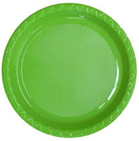 Plate Lunch Lime Green 180mm Pack of 25