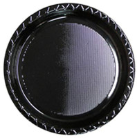 Plate Lunch Black 180mm Pack of 25