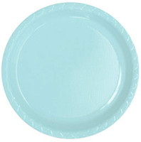 Plate Dinner Heavy Duty Light Blue 230mm Pack of 25
