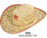 COWBOY  HAT - CHILD STRAW