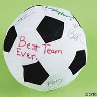 AUTOGRAPH SOCCER BALL & PEN