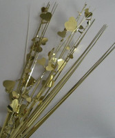 DEC.SPRAY GOLD HEARTS P1