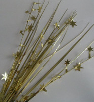 DEC.SPRAY GOLD STARS P1