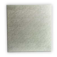 "CAKE BOARD SILVER STD 14 "" SQUARE"