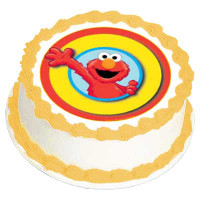 ELMO 135MM EDIBLE IMAGE