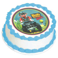 BOB THE BUILDER 135MM EDIBLE IMAGE