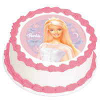 BARBIE CLASSIC EDIBLE ICING IMAGE