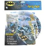 BATMAN PARTY PACK 40 PCS