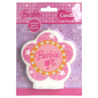 BARBIE FLAT CANDLE 1