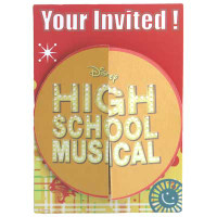HIGH SCHOOL MUSICAL  INVITES 8