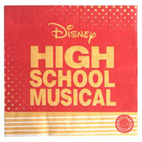 HIGH SCHOOL MUSICAL NAPKINS 16