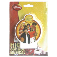 HIGH SCHOOL MUSICAL FLAT CANDLE 1