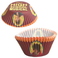 HIGH SCHOOL MUSICAL MUFFIN CUPS 50
