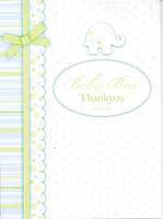 BABY BOY THANK YOU NOTES 20 SHEETS