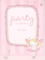 PARTY INVITE DANCING FAIRY 20 SHEETS