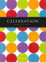 CELEBRATION INVITES 20 SHEETS