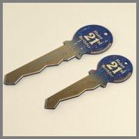 21st Party Key Large 43cm B