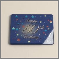 50th Party book with 10 pages BL