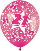 21 Met Fuchsia All over print