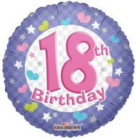 "FOILBAL.18"" 18TH BIRTHDAY"