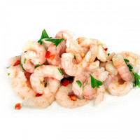 PRAWNS COOKED AND PEELED 1 KG