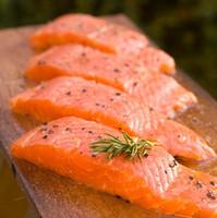 Smoked Salmon Steak