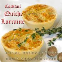 COCKTAIL QUICHE LORRAINE 12
