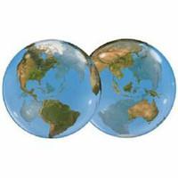 Planet Earth Balloon Bubble
