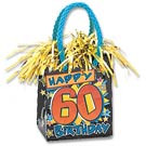 PK1 HAPPY 60TH BIRTHDAY BAG